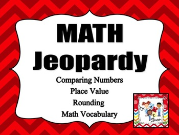 Math Jeopardy 1 PowerPoint Game