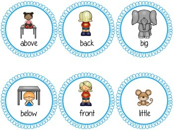 Picture Antonyms Match