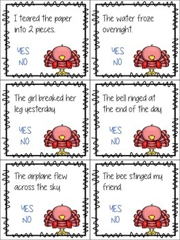 Quirky Turkey Grammar Task Cards