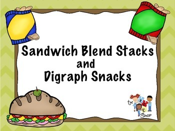 Sandwich Blend Stacks and Digraph Snacks
