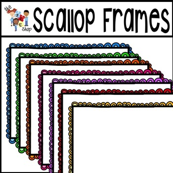 Scallop Frames and Task Cards