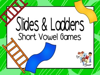 Slides and Ladders: Short Vowel Games