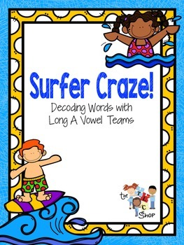 """Surfer Craze: Words with """"ai"""" and """"ay"""""""