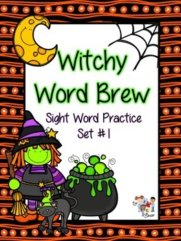 Witchy Sight Word Brew: Set 1