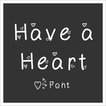 *FREE* HEART Font - Perfect for Valentine's Day Materials