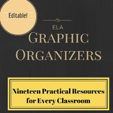Nineteen Practical Organizers for the ELA Classroom (edita
