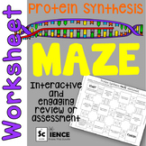 Of Mice And Men Vocabulary Worksheets Genetics Review Maze Worksheet For Review Or Assessment  Tpt Long Division Worksheets Year 6 Excel with Grammar Worksheets Commas Pdf Product Thumbnail Protein Synthesis Maze Worksheet  Art History Worksheet Word