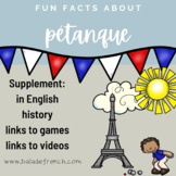 French Culture Fun Facts : Pétanque