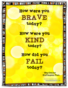 Growth Mindset Poster for Closing Circle