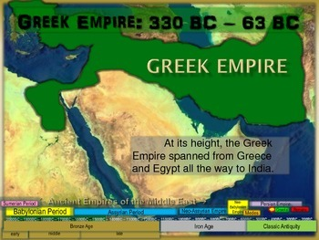 FREE guided notes for GREEK (SELEUCID) EMPIRE (part 6 of the Mesopotamia Unit)