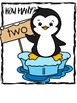 FREE math printable for Special Education, penguin theme