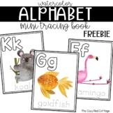 FREE mini animal tracing book