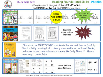 FREE online e-catalog! Literacy resources for Preschool - Grade 2  (PRINT)