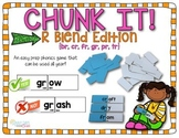 FREE r-blend Chunk It phonics game