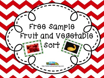 Fruit and Vegetable Sort- Free Sample