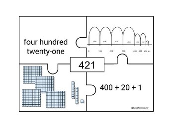 FREE sample of Number Sense puzzles with number lines