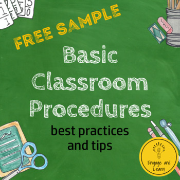 FREE sample of the guide: 20 Basic Classroom Procedures