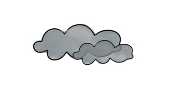 FREE set of weather clipart