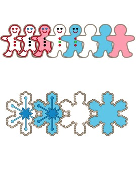 Christmas Cookies #2 Clip Art ~ Commercial Use OK ~ Holiday