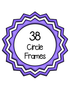 Circle Frame Favorites Clip Art ~ Commercial OK