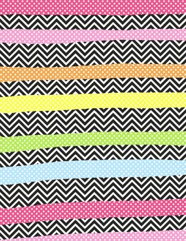 Funky Papers #1 Clip Art ~ 21 Digital Papers ~ Inspired by Seuss
