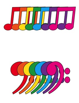 Music Notes Clip Art ~ CU OK ~ Choir