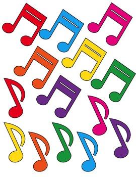 Music Notes Clip Art ~ CU OK ~ Choir