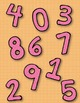 Numbers 0 - 9 Clip Art ~ Polka Dot Graphics ~ CU OK