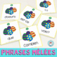 Pâques FRENCH Easter Sentence Builders