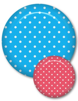 Polka Dot Accents Clip Art ~ Commercial Use OK ~ Frames
