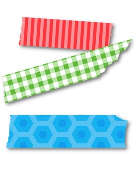 Washi Tape Clip Art ~ Commercial Use Graphics
