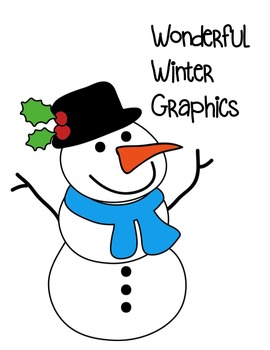 Winter Wonder Clipart ~ Commercial Use OK ~ Christmas