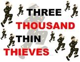 FREE - Tongue Twister - Thin Thieves