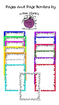 FREE~~33 Pages and Borders~~  Many color and designs