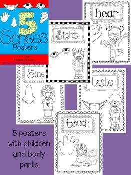 FREE!!!5 Senses - Posters!