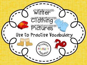 FREEBEE: FUN Games to Practise French Vocabulary Winter Clothes