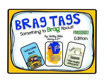 {FREEBIE} Something to Brag About! (Brag Tags)