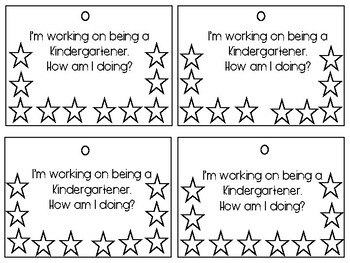FREEBIE-End of the Year Behavior Management Cards