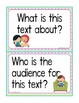 FREEBIE! 10 Close Reading Question Stems & Close Reading Poster