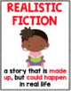 FREEBIE! 10 Reading Genre Posters with Definitions & an Illustration