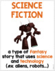 FREEBIE! 10 Reading Genre Posters with Definitions & Illustrations