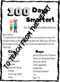 FREEBIE 100th Day of School Letter to Parents