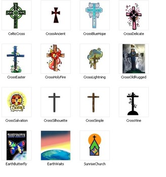 FREEBIE: 12 Christian Crosses