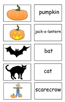 FREEBIE:  15 Halloween Flash Cards (PDF)