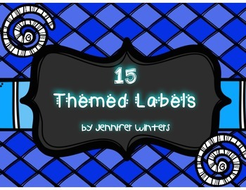 FREEBIE! 15 Themed Labels