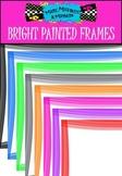 FREEBIE! 16 Bright Painted Frames