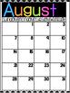 FREEBIE: 2016-2017 Calendar