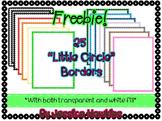 "*FREEBIE* 25 ""Little Circle"" Borders"