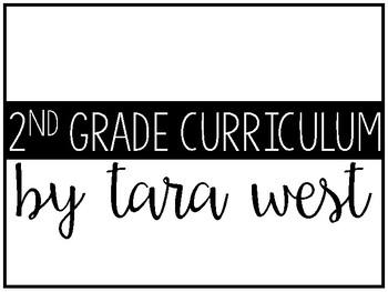 FREEBIE 2nd Grade Curriculum Guide
