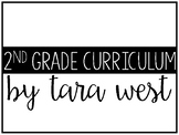 FREEBIE 2nd Grade Curriculum Guide